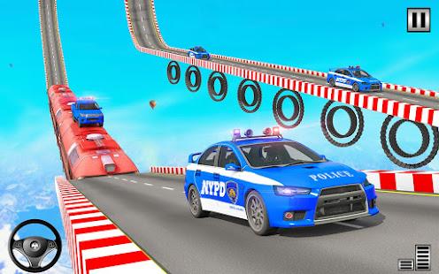 Police Mega Ramp – Car Stunts Games v1.15 screenshots 5