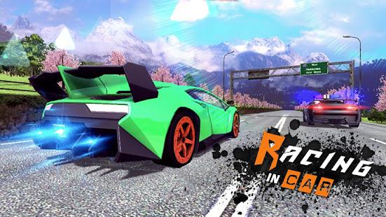 Racing In Car 3D v2.0.0 screenshots 4