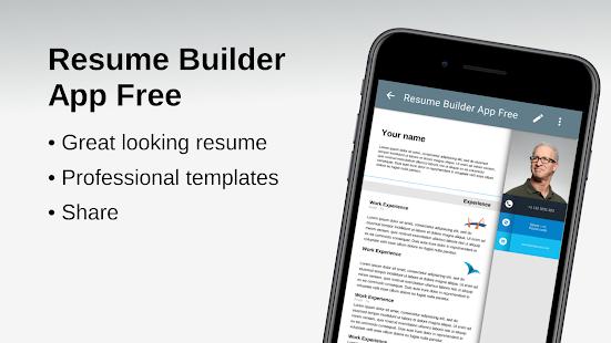 Resume Builder App Free v210908 screenshots 1