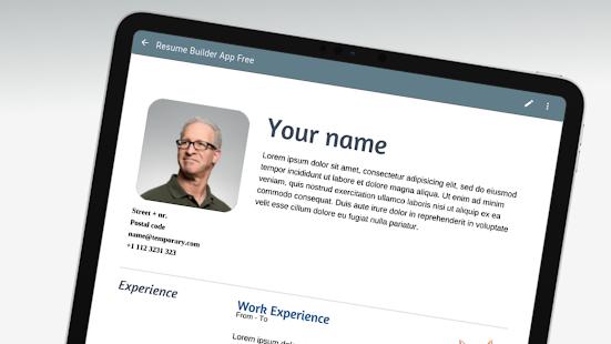 Resume Builder App Free v210908 screenshots 3
