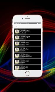 Ruqyah Mp3 Offline Sheikh Mishary Rashid Alafasy v7.0 screenshots 13