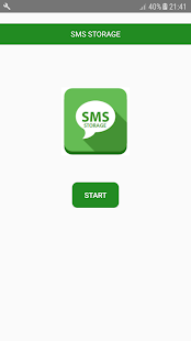 SMS Storage v11.0 screenshots 1
