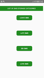 SMS Storage v11.0 screenshots 2