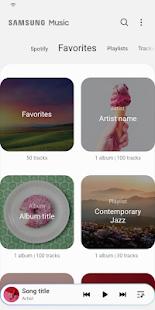 Samsung Music v16.2.25.11 screenshots 3