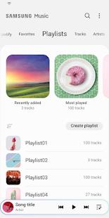 Samsung Music v16.2.25.11 screenshots 4