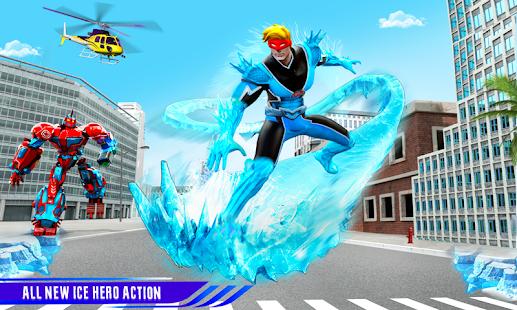 Snow Storm Robot Super Hero v6.0.0 screenshots 2