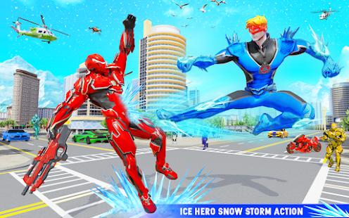 Snow Storm Robot Super Hero v6.0.0 screenshots 24
