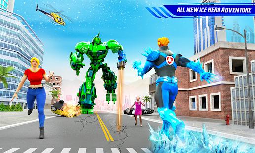 Snow Storm Robot Super Hero v6.0.0 screenshots 5