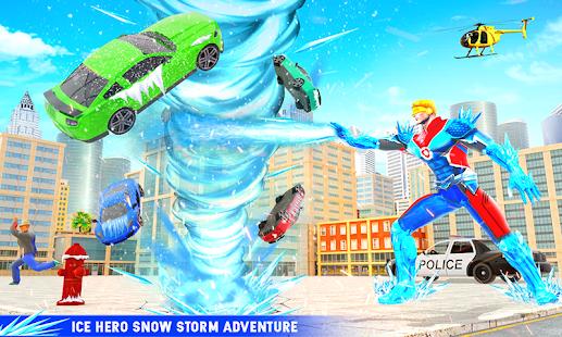 Snow Storm Robot Super Hero v6.0.0 screenshots 6