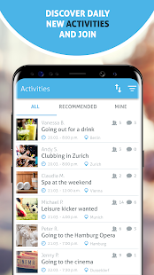 Spontacts Free Time Activities amp Events Near You v10.0.5 screenshots 2