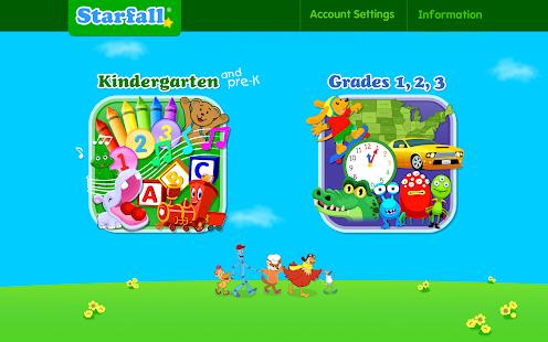 Starfall.com v3.0.22 screenshots 1