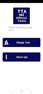 TTA Mi Official Myanmar Unicode Font v1.0.5 screenshots 1