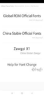 TTA Mi Official Myanmar Unicode Font v1.0.5 screenshots 2