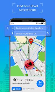 Voice GPS Driving Route Gps Navigation amp Maps v1.8.3 screenshots 1