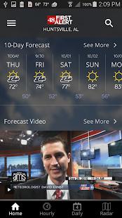 WAFF 48 First Alert Weather v5.3.706 screenshots 2