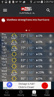 WAFF 48 First Alert Weather v5.3.706 screenshots 4