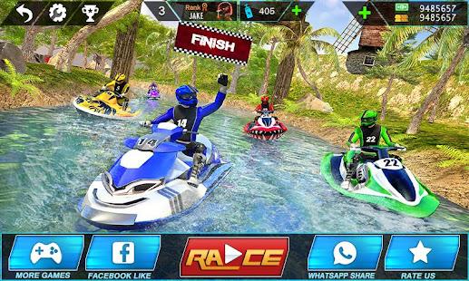 Water Jet Ski Boat Racing 3D v1.6 screenshots 1