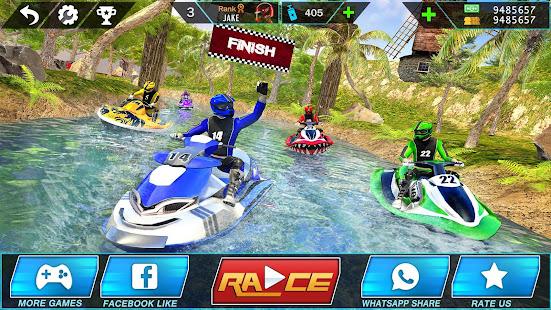 Water Jet Ski Boat Racing 3D v1.6 screenshots 11