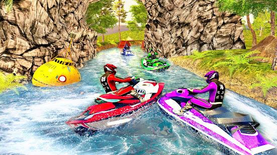 Water Jet Ski Boat Racing 3D v1.6 screenshots 13