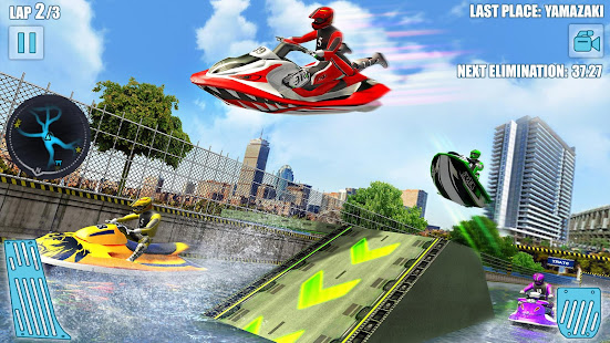 Water Jet Ski Boat Racing 3D v1.6 screenshots 14