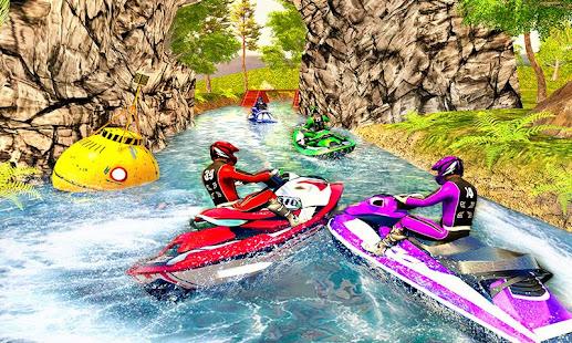 Water Jet Ski Boat Racing 3D v1.6 screenshots 3