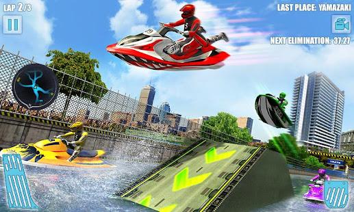 Water Jet Ski Boat Racing 3D v1.6 screenshots 4