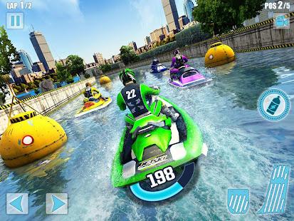 Water Jet Ski Boat Racing 3D v1.6 screenshots 7