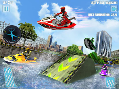 Water Jet Ski Boat Racing 3D v1.6 screenshots 9
