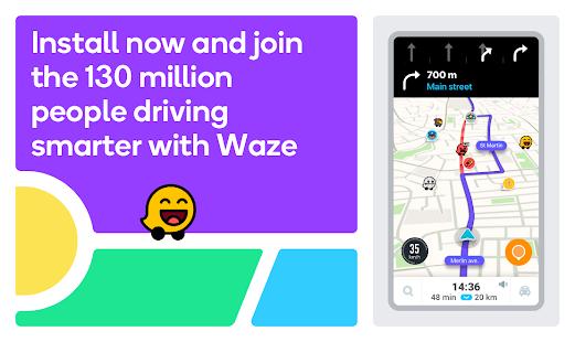 Waze – GPS Maps Traffic Alerts amp Live Navigation v4.77.0.1 screenshots 7