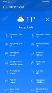 Weather Forecast v3.05.1 screenshots 5