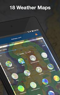 Weather by WeatherBug Live Radar Map amp Forecast v5.26.0-107 screenshots 11