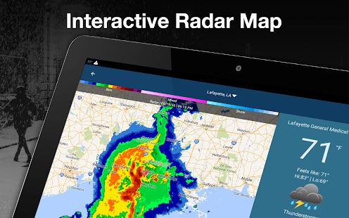 Weather by WeatherBug Live Radar Map amp Forecast v5.26.0-107 screenshots 17
