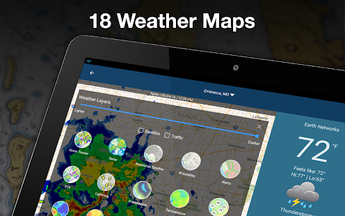 Weather by WeatherBug Live Radar Map amp Forecast v5.26.0-107 screenshots 18