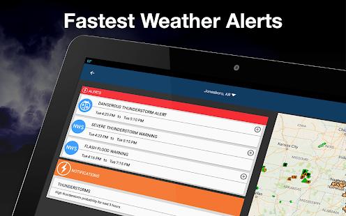 Weather by WeatherBug Live Radar Map amp Forecast v5.26.0-107 screenshots 19