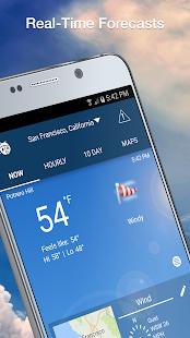 Weather by WeatherBug Live Radar Map amp Forecast v5.26.0-107 screenshots 2