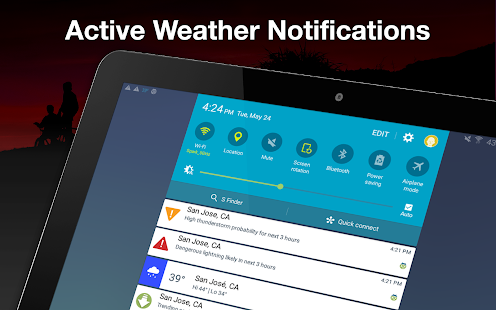 Weather by WeatherBug Live Radar Map amp Forecast v5.26.0-107 screenshots 20