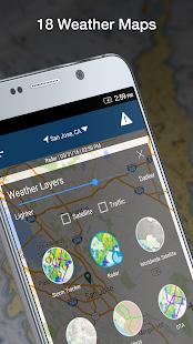 Weather by WeatherBug Live Radar Map amp Forecast v5.26.0-107 screenshots 4