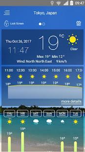 Weather forecast v71 screenshots 1