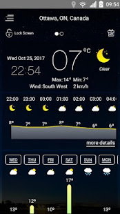 Weather forecast v71 screenshots 16