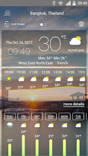 Weather forecast v71 screenshots 3