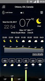 Weather forecast v71 screenshots 8