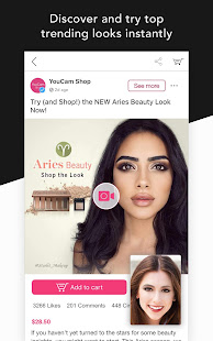 YouCam Shop – Worlds First AR Makeup Shopping App v3.4.7 screenshots 2