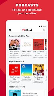 iHeart Radio Music Podcasts v10.7.0 screenshots 4