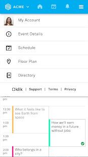 klik Event App v1.1.1 screenshots 3