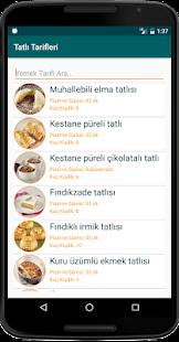 nternetsiz Tatl Tarifleri v1.8 screenshots 12