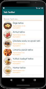 nternetsiz Tatl Tarifleri v1.8 screenshots 13