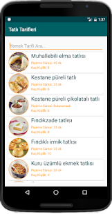 nternetsiz Tatl Tarifleri v1.8 screenshots 6