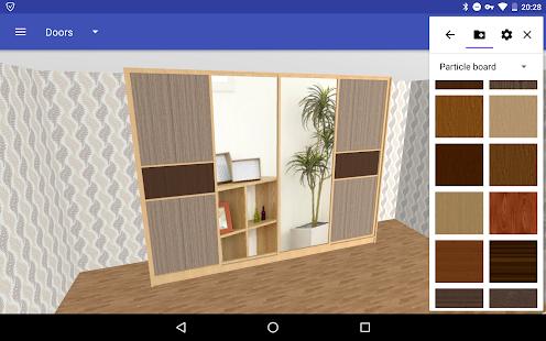 Closet Planner 3D v screenshots 1