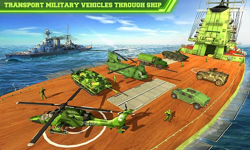 US Army Cargo Transport Cruise Ship Simulator v screenshots 1
