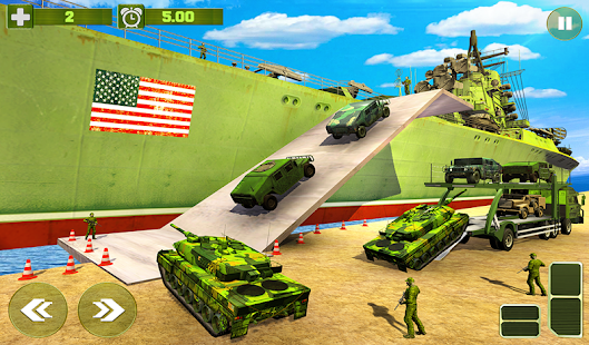 US Army Cargo Transport Cruise Ship Simulator v screenshots 9